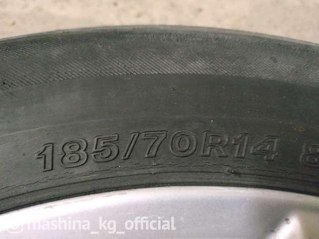 Tires - Продам шины и диски R14 , разболтовка 5/114