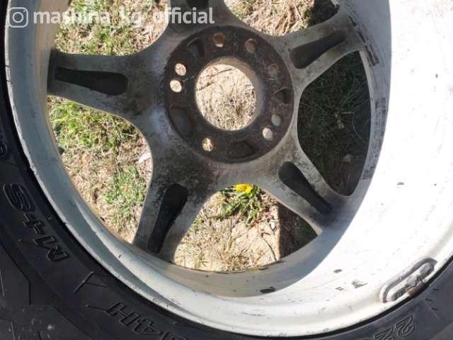 Диски - Продам один диск с резиной на запаску