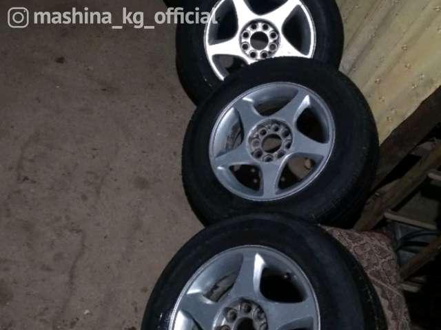 Диски - Продаю титановые диски с шиной р13 r13