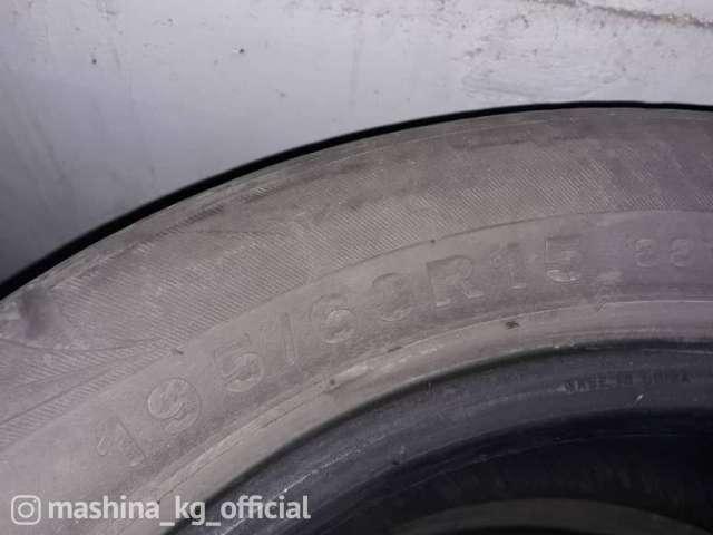 Шины - Продаю б/у летние шины R15