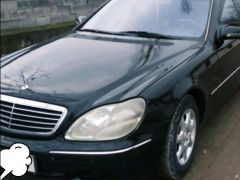 Mercedes-Benz S-класс IV (W220) 320 3.2, 1999 г., $ 4 575