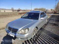 Mercedes-Benz S-Class IV (W220) 430 4.3, 2002 г., $ 4 500