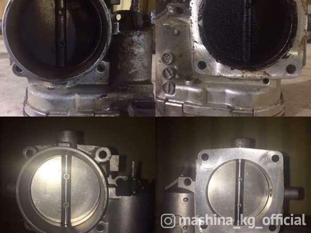 СТО, ремонт и обслуживание - Ремонт двигателя Чистка топливной системы.