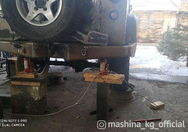 - Изготовление силовой бампер