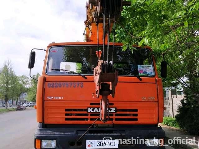 Грузоперевозки - Услуги Автокран 16 тон 25 тон Жалал-Абад