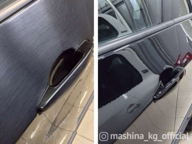 Химчистка, полировка - Жидкое стекло для авто