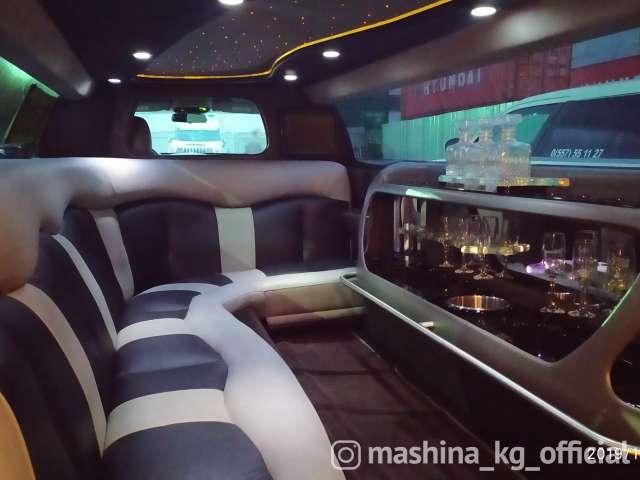 Прокат, аренда - Лимузин Крайслер белый на прокат