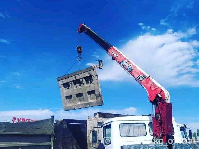 Грузоперевозки - Кран манипулятор бишкек