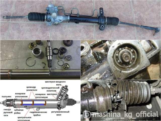 СТО, ремонт и обслуживание - Ремонт рулевой рейки и гур