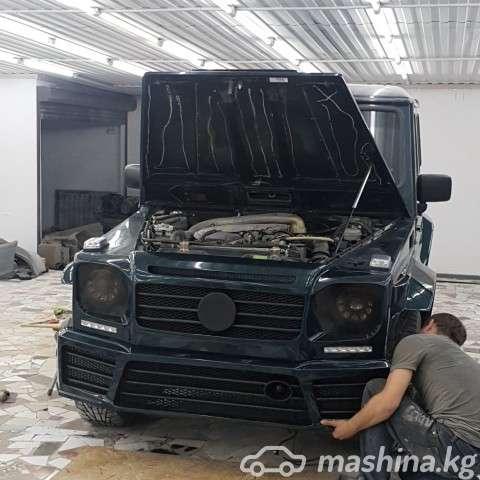 Тюнинг - Обвес Mansory-Brabus WideStar на W463