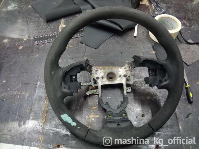 Перетяжка салона, пошив чехлов - Реставрация салона автомобиля