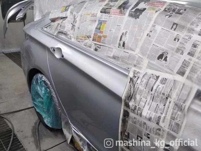 Кузовные и малярные работы - Профессиональная покраска авто