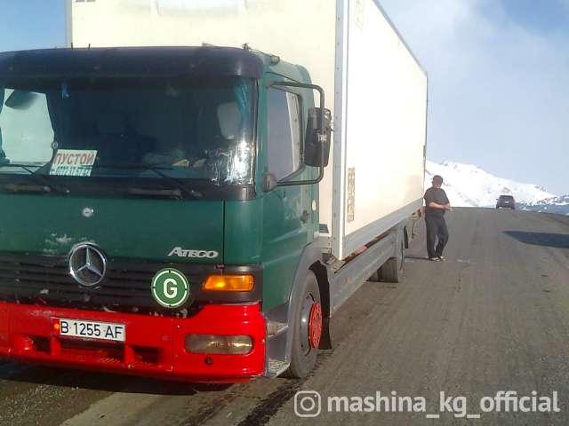 Грузоперевозки - Грузоперевозки по КР и РК до 10 тонн