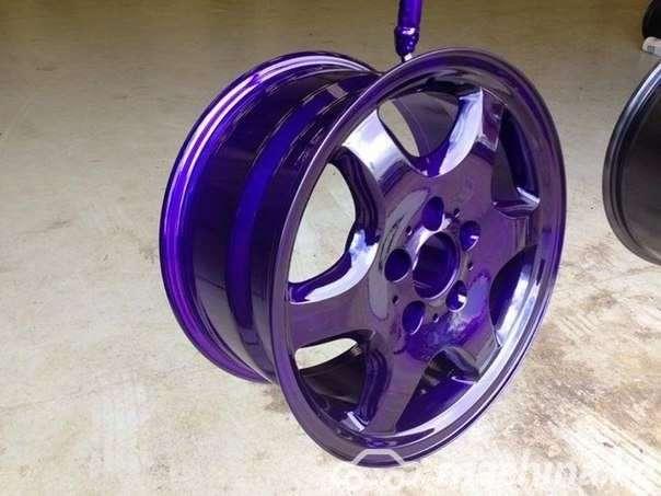 Другие - Пескоструйная обработка автомобильных дисков