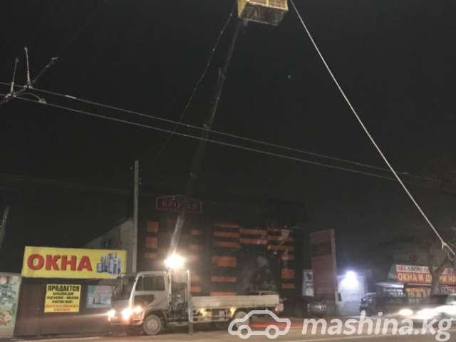 Эвакуатор - Автовышка 14 метров