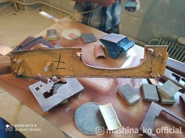 Перетяжка салона, пошив чехлов - Ремонт и реставрация панелей под дерево. качество
