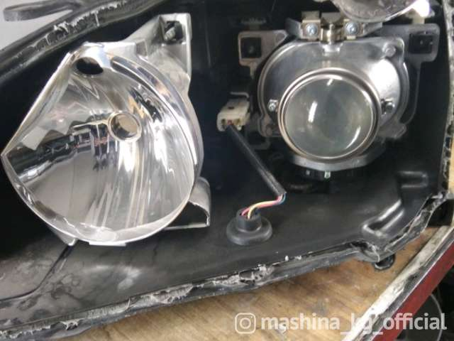 Repair, Tuning of Headlights and Optics - Ремонт фар