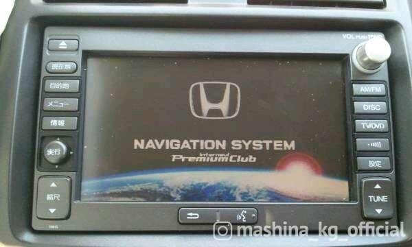Автозвук и сигнализация - Загрузка штатной мультимедии с hdd honda