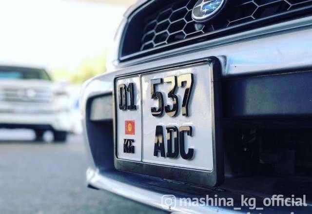 Другие - 3D номера на машины