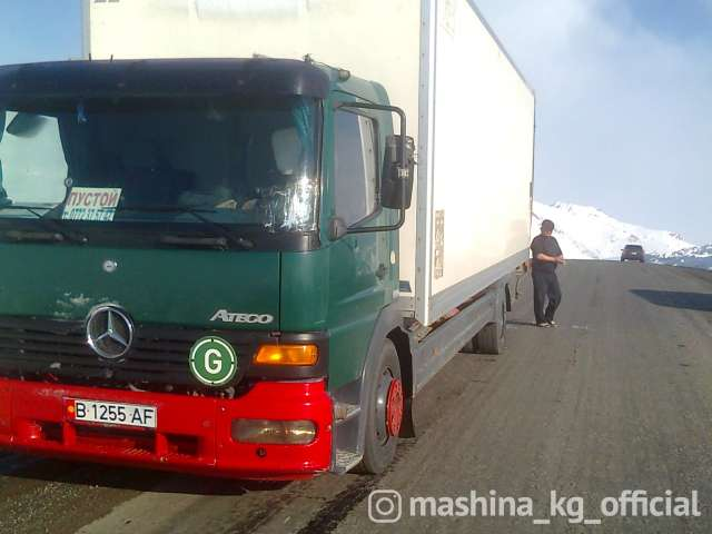 Грузоперевозки - Грузоперевозки по КР,РФ, РК до 10 тонн