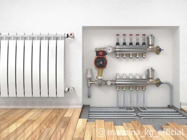 Другие - Установка отопления Бишкек. Ремонт отопления в Биш