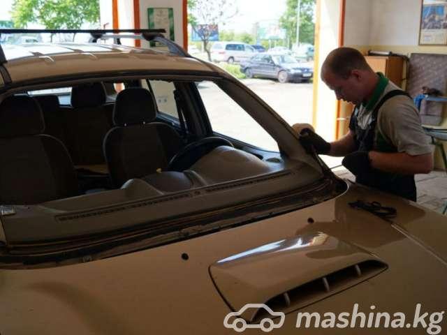 Установка автостёкол - Установка авто стекл лобовое задние и боковые на в