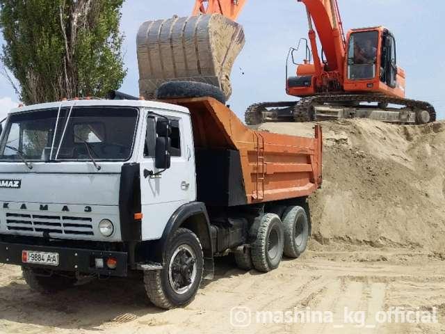 Грузоперевозки - Услуги КАМАЗ по г. Бишкек