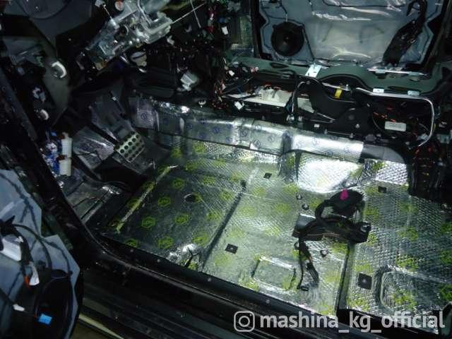 Soundproofing - Шумоизоляция авто