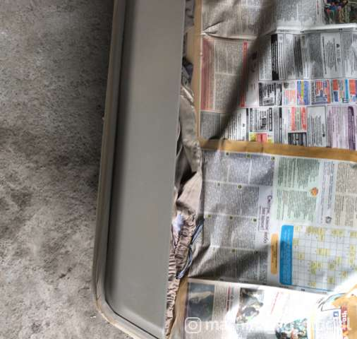 Перетяжка салона, пошив чехлов - Перетяжка потолка